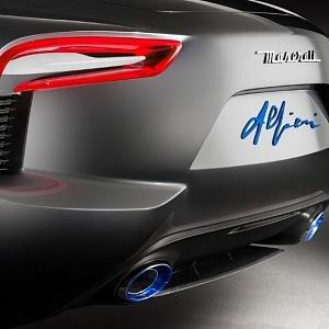 Detail originální podpis zakladatele Maserati