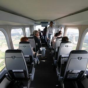 Uvnitř kokpitu, Zeppelin NT