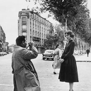 Sam Shaw a Audrey Hepburn
