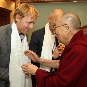 Karel Janeček with Dalai Lama