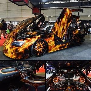 Tokyo auto salon 2018, Toyota Raven Supra