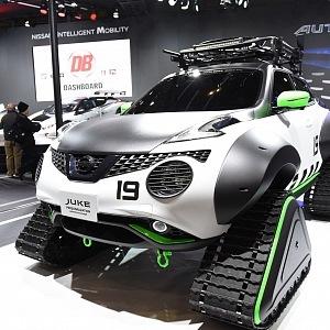 Nissan Juke Personalizace Adventure Concept