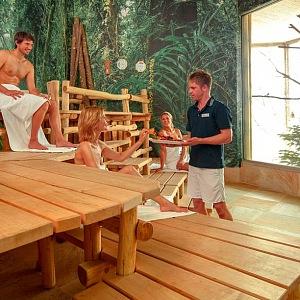 Topická sauna, Thermen & Badewelt Sinsheim