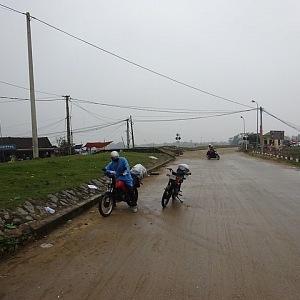 Jeho velkou vášní je cestování. Vietnam projel na motorce.