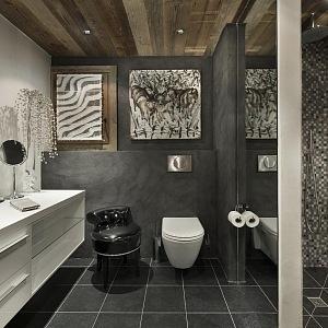 Les 3 Chalets Courchevel, koupelna