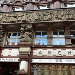 Palác Archa v detailu