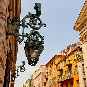 Architektura v Nice.
