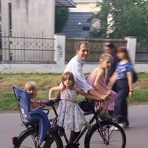 Jan Čižinský je hrdý otec tří krásných dcer.
