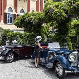 1937 Bentle 4 1/2 liter cabriolet
