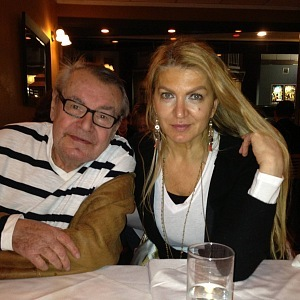 Miloš Forman and Martina Formanová