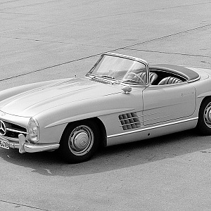 Mercedes-Benz 300 SL Roadster, 1958