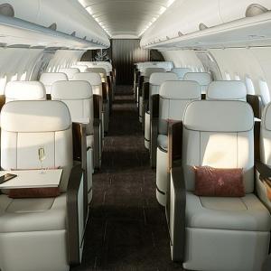 New airplane