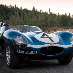 Jaguar D Type Roadster