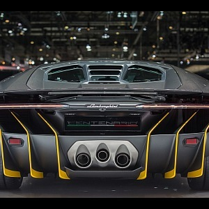Lamborghini Centenario, kupé
