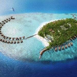 Maledivy, St Regis