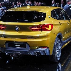 BMW X2 na autoshow v Detroitu