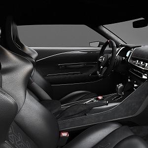 Italdesign, Nissan GT R50, interior