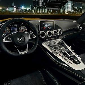 Interiér vozu Mercedes