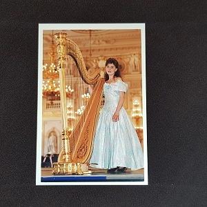 Vítězství na soutěži v Americe, harfa je doma.