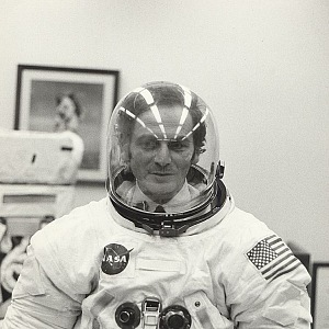 Pierre Cardin: Space suit testing form a mission Apollo 11