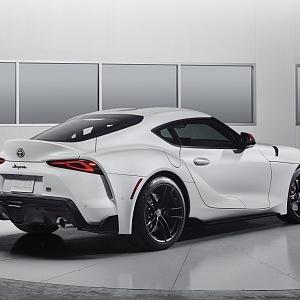 Toyota Supra GR 2019, bílé provedení