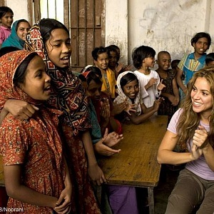 Shakira in poor countries