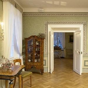 Villa Bertramka - interior