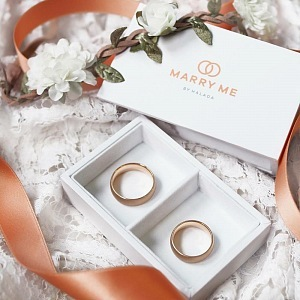 Snubní prsteny Marry Me by HALADA