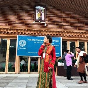 Lilia in Bhutan