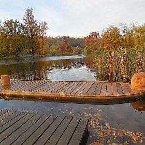 Královská obora - rybník ve Stromovce