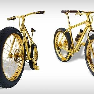 Luxusní horské kolo, nemyslíte?