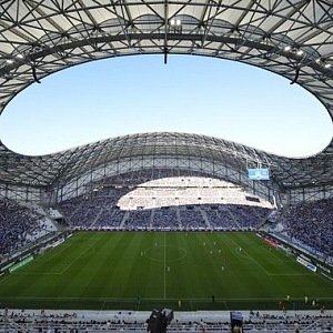 Futbalový stadion Velodrome v Marseille.