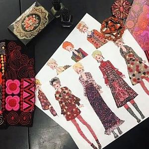 Orientální kolekce Anna Sui.