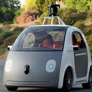Self-driving car Google