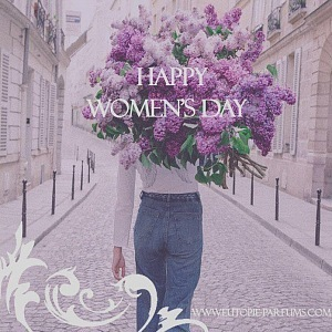 Happy Woman's Day from EUTOPIE