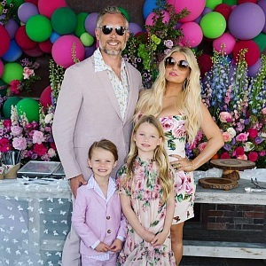 Jessica Simpson s rodinou