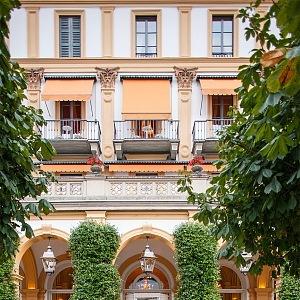 Villa d´Este u jezera Como