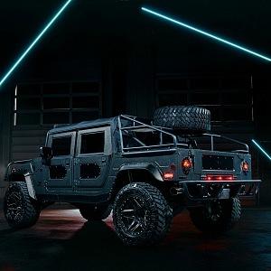 "Mil-Spec Automobil Hummer H1 ""Launch Edition"""