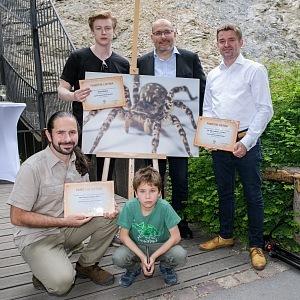 V Praze v zoo mají nyní atrakci největšího pavouka v Evropě.