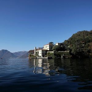 Luxusní vila na italském jezeře.