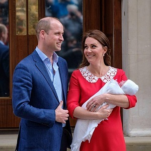 Na britském královském dvoře se narodil princ Louis