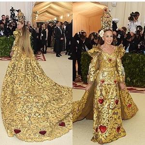 Sarah Jessica Parker, šaty Dolce & Gabbana