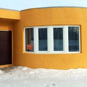 Dům postavený 3D tiskem, Rusko