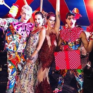 Luxusní show Moschino