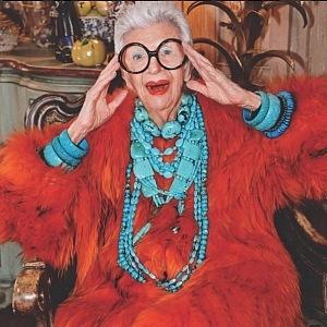 Iris Apfel je úžasná žena a módní ikona.