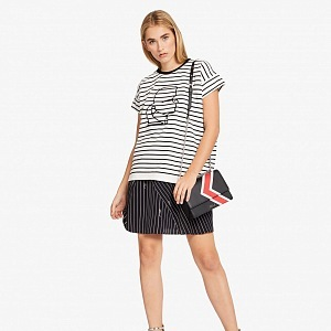 K/STRIPES Shoulder Bag