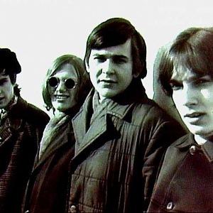 Jiří Korn (second left) and Rebels