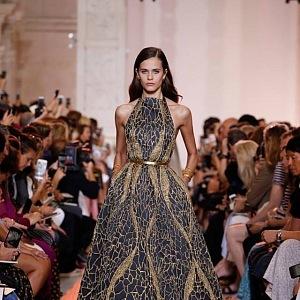Oslnivý třpyt Elie Saab Haute Couture AW 2018