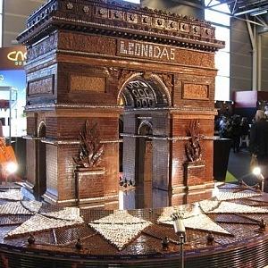 Čokoládový festival v Paříži