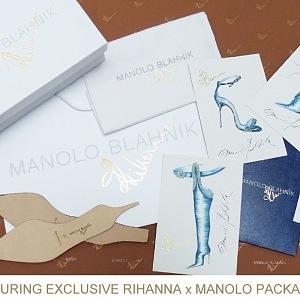 Manolo Blahnik a Rihanna: kolekce Denim Desserts